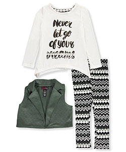 Dream Star Little Girls' Toddler 3-Piece Outfit (Sizes 2T – 4T) - CookiesKids.com