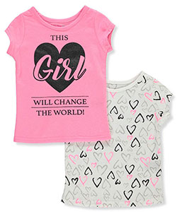 Dream Star Baby Girls' 2-Pack T-Shirts - CookiesKids.com