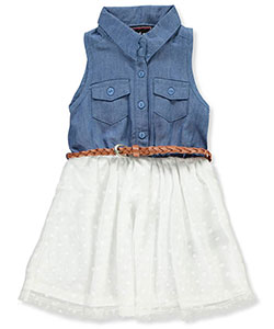 Dream Star Baby Girls' Belted Dress - CookiesKids.com