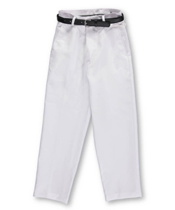 Vittorino Little Boys' Flat Front Belted Dress Pants (Sizes 4 - 7) - CookiesKids.com