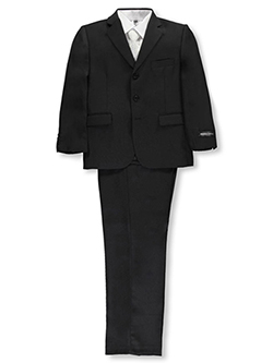 "Kids World Big Boys' Husky ""Power Play"" 5-Piece Suit (Sizes 10H – 20H) - CookiesKids.com"
