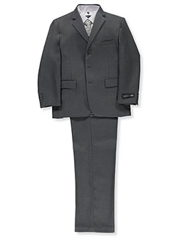 "Kids World Big Boys' Husky ""In Charge"" 5-Piece Suit (Sizes 10H – 20H) - CookiesKids.com"