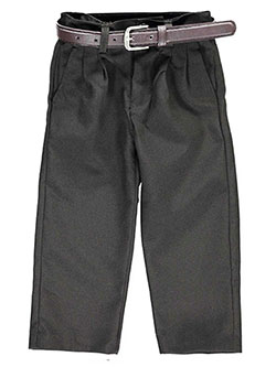Vittorino Little Boys' Toddler Pleated Belted Dress Pants (Sizes 2T - 4T) - CookiesKids.com