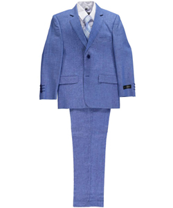 "Kids World Big Boys' ""Haveron"" 5-Piece Suit (Sizes 8 – 20) - CookiesKids.com"