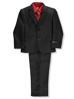 "Kids World Little Boys' Toddler ""Cambria"" 5-Piece Suit (Sizes 2T – 4T) - CookiesKids.com"