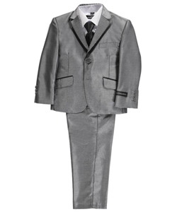 "Kids World Little Boys' ""Hilo"" 5-Piece Suit (Sizes 4 – 7) - CookiesKids.com"