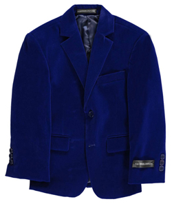 "Kids World Little Boys' Toddler ""Velour Touch"" Sportcoat (Sizes 2T – 4T) - CookiesKids.com"
