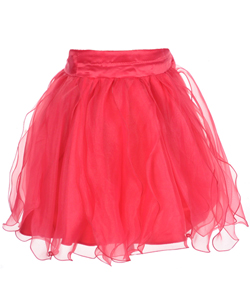 "Kids World Little Girls' ""Petal Perfection"" Skirt (Sizes 4 – 6X) - CookiesKids.com"