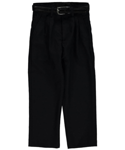 Vittorino Little Boys' Toddler Pleated Belted Dress Pants (Sizes 2T – 4T) - CookiesKids.com