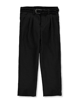 Vittorino Little Boys' Pleated Belted Dress Pants (Sizes 4 - 7) - CookiesKids.com
