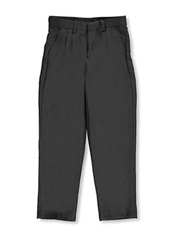 Vittorino Little Boys' Flat Front Belted Dress Pants (Sizes 4 – 7) - CookiesKids.com