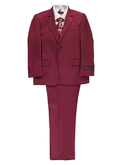 "Kids World Big Boys' ""Marlowe"" 5-Piece Suit (Sizes 8 – 20) - CookiesKids.com"