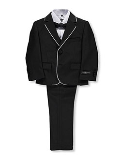 "Kids World Little Boys' Toddler ""Pascal"" 5-Piece Suit (Sizes 2T – 4T) - CookiesKids.com"