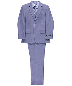 "Kids World Big Boys' ""Blade"" 5-Piece Suit (Sizes 8 – 20) - CookiesKids.com"
