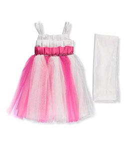 Pink Butterfly Baby Girls' Dress with Shawl - CookiesKids.com