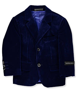 Kids World Baby Boys' Velvet Blazer - CookiesKids.com