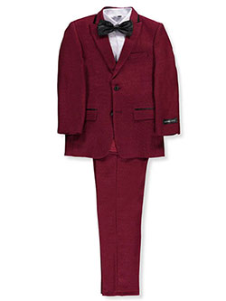 Kids World Big Boys' 5-Piece Suit (Sizes 8 – 20) - CookiesKids.com