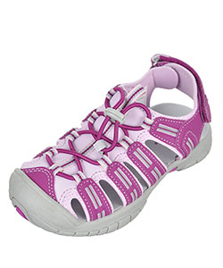 "Khombu Girls' ""Sally"" Sport Sandals (Youth Sizes 12 – 4) - CookiesKids.com"