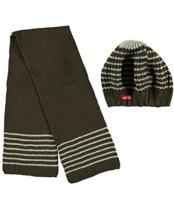 "Crush Girls ""Swirly"" Beret & Scarf Set (Youth One Size) - CookiesKids.com"