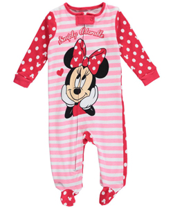 "Minnie Mouse Baby Girls' ""Simply Adorable"" Coverall - CookiesKids.com"