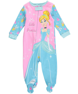 "Disney Princess Baby Girls' ""Little Princess"" Coverall - CookiesKids.com"