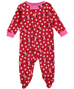 "Minnie Mouse Baby Girls' ""Dot Medley"" Coverall - CookiesKids.com"