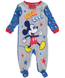 "Mickey Mouse Baby Boys' ""Super Cool"" Coverall - CookiesKids.com"