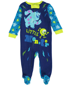 "Monsters, Inc. Baby Boys' ""Little Monster"" Coverall - CookiesKids.com"