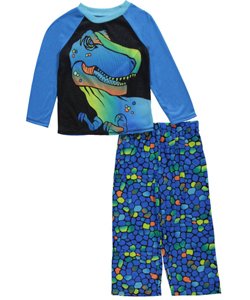 "Komar Kids Big Boys' ""Big Blue"" 2-Piece Pajamas (Sizes 8 – 20) - CookiesKids.com"