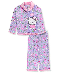 Hello Kitty Little Girls' 2-Piece Pajamas (Sizes 4 – 6X) - CookiesKids.com
