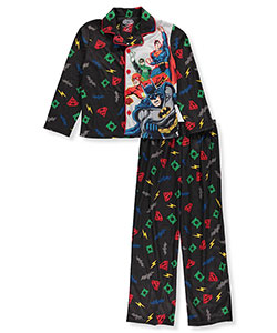 Justice League Big Boys' 2-Piece Pajamas (Sizes 8 – 20) - CookiesKids.com