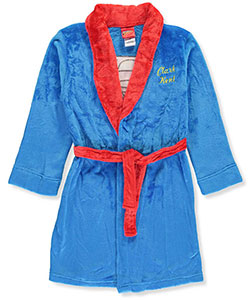 Superman Big Boys' Plush Robe (Sizes 8 – 20) - CookiesKids.com