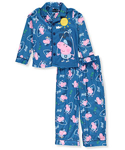 Peppa Pig Little Boys' Toddler 2-Piece Pajamas (Sizes 2T – 4T) - CookiesKids.com