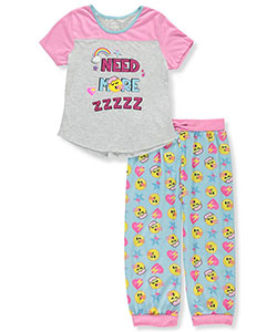 Emojination Girls' 2-Piece Pajamas - CookiesKids.com