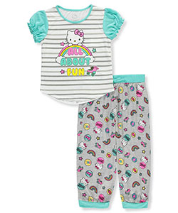 Hello Kitty Girls' 2-Piece Pajamas - CookiesKids.com