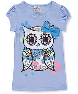 "Beautees Little Girls' ""Spellbound"" T-Shirt (Sizes 4 – 6X) - CookiesKids.com"