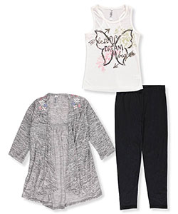 Beautees Big Girls' 3-Piece Outfit (Sizes 7 – 16) - CookiesKids.com