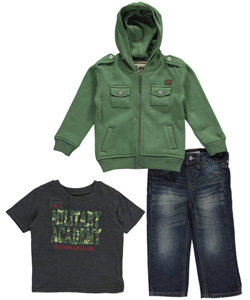 "Lee Baby Boys' ""Academy Recruit"" 3-Piece Outfit - CookiesKids.com"