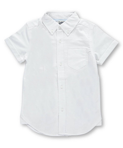 "Lee Uniforms Little Boys' ""Oxford Patch"" L/S Button-Down Shirt (Sizes 4 – 7) - CookiesKids.com"