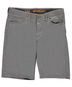 Lee Big Boys' Husky Active Stretch Twill Shorts (Sizes 14H – 20H) - CookiesKids.com