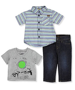 "Lee Baby Boys' ""Space Traveler"" 3-Piece Outfit - CookiesKids.com"