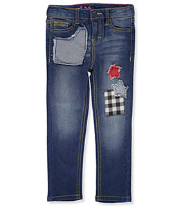 Lee Little Girls' Toddler Skinny Jeans (Sizes 2T – 4T) - CookiesKids.com