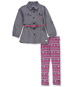 Lee Little Girls' Toddler 2-Piece Outfit (Sizes 2T – 4T) - CookiesKids.com