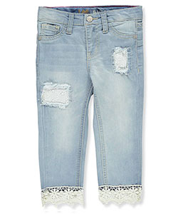 Lee Girls' Cropped Jeans - CookiesKids.com