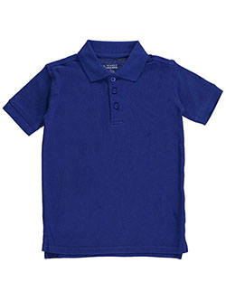 Classic School Uniform Little Boys' Pique Polo (Sizes 4 – 7) - CookiesKids.com