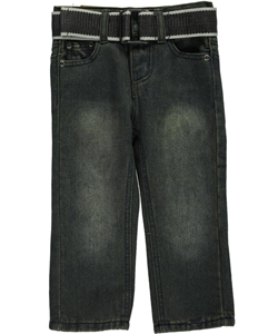 "Level-1 Baby Boys' ""Stress Tested"" Belted Jeans - CookiesKids.com"