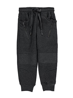 "LR Scoop Little Boys' ""Ribbed & Seamed"" Joggers (Sizes 4 – 7) - CookiesKids.com"
