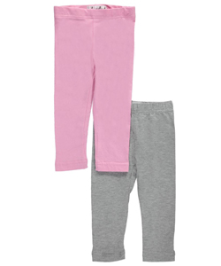 "Pink Velvet Baby Girls' ""Basic Boost"" 2-Pack Leggings - CookiesKids.com"