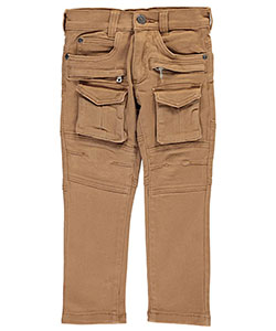 "LR Scoop Little Boys' Toddler ""Strictly Rhythm"" Skinny Cargo Jeans (Sizes 2T – 4T) - CookiesKids.com"