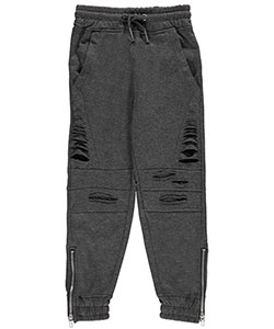 "LR Scoop Big Boys' ""Angled Tear"" Joggers (Sizes 8 – 20) - CookiesKids.com"